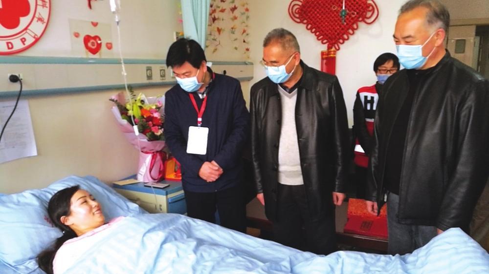 临洮38岁药师成为甘肃省第40例造血干细胞捐献者
