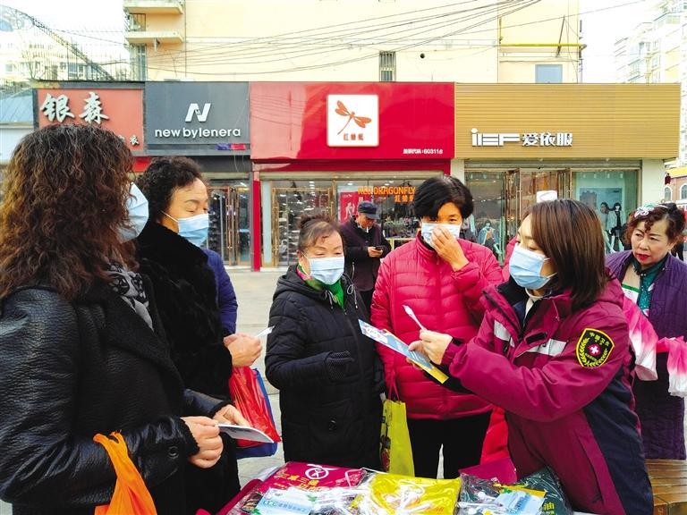 """兰州七里河区举行志愿服务活动 宣传""""勤俭节约、爱惜粮食"""""""