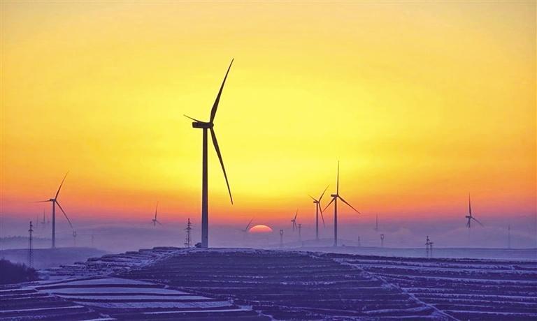 定西通渭百万千瓦级风电基地建成